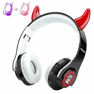 AZACOW Kids Headphones with Microphone Foldable Wireless Bluetooth Toddler He...