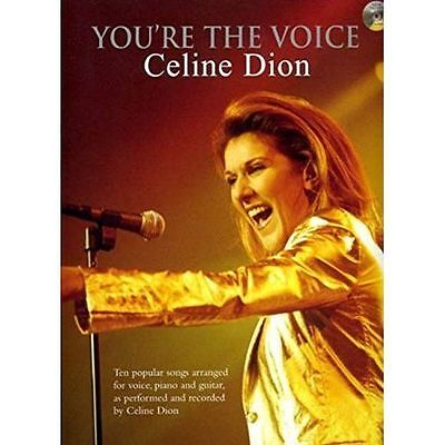 You're The Voice: Celine Dion (Book & CD) PVG