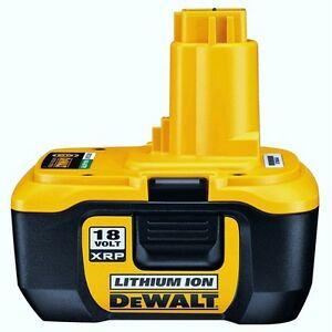 DEWALT 18V LITHIUM ION BATTERY DC9180