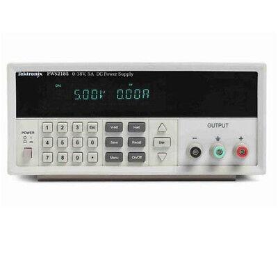 Tektronix Pws2185 18v5a Dc Power Supply