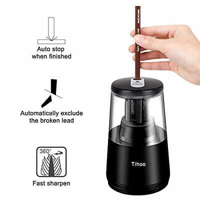 Electric Batteryusb Operated Pencil Sharpener Desk School Office Portable Home