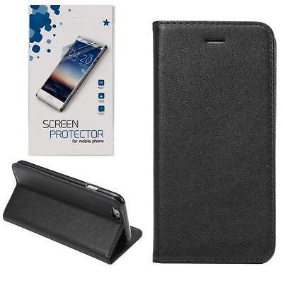 Magnetic Tasche Handyhülle Book Case Flipcase Wallet Schutzhülle + 9H Schutzglas Magnetic Wallet Case