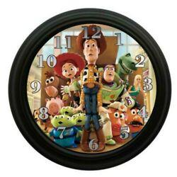 Wall Clock Toy Story Bedroom Decor Kids Room Playroom