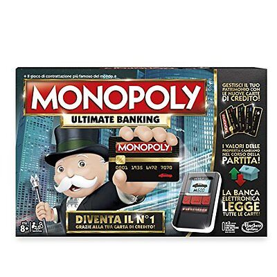 Hasbro Games Gioco Monopoly Ultimate Banking (M6J)