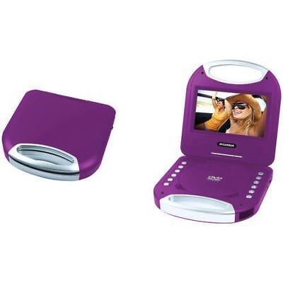 Sylvania SDVD7049 7-Inch Portable DVD Player with Handle, Pu