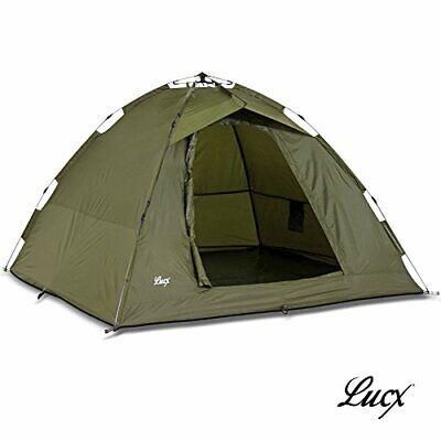 Lucx® Ruck Zuck Bivvy Fishing Tent 2 people Carp Tent Fishing Tent 1 - 2 people