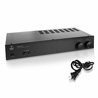 Pyle Home PAMP1000 160 Watt 2 Channel Home Stereo Power Ampl