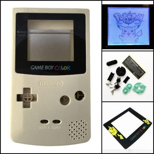 Gbc Nintendo Game Boy Color Frontlit Frontlight Front Lig...