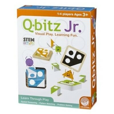 NEW MindWare Q-bitz Jr. Board Game](Q Bitz)