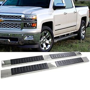 "6"" Running Boards for Chevy Silverado / GMC Sierra 2007 - 2018"