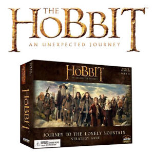 The Hobbit - Journey to Lonely Mountain Strategy Game (no Figs)