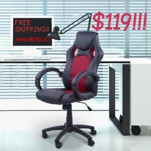 SALE @  WWW.BETEL.CA || FREE DELIVERY || Brand New Executive Office Computer Desk Chairs