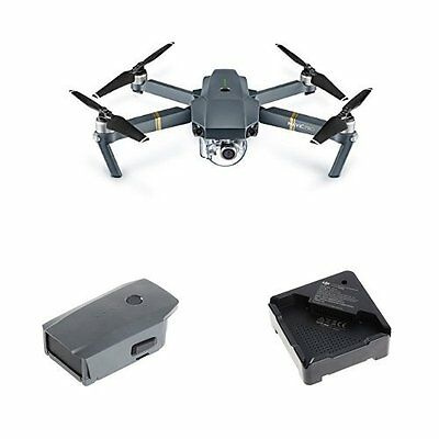 DJI Mavic Pro Drone & Accessories Bundle - iOS & Android compatible True 4K