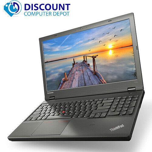 "Laptop Windows - Lenovo Laptop T540p 15.6"" Core i7 8GB 256GB SSD Webcam Wifi Windows 10 Pro PC"