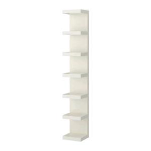 2 ikea wall shelves