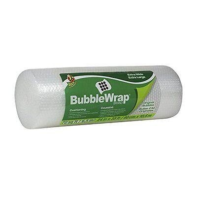 Duck Brand Bubble Wrap Original Cushioning 24 Inches Wide X 35 Feet Long Roll
