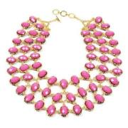 Coral Bib Necklace