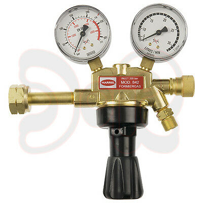 HARRIS Druckminderer Druckregler Formiergas 0-30l/min