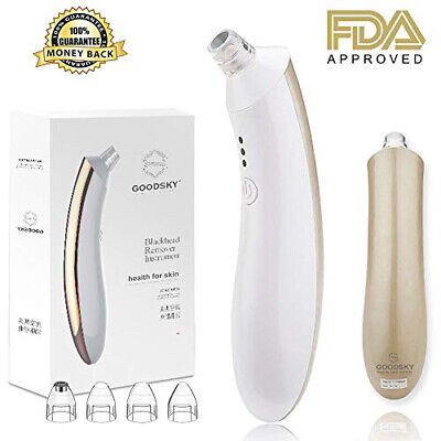 Electronic Blackhead Remover Vacuum Suction Facial Acne Pore Cleaner Extractor..