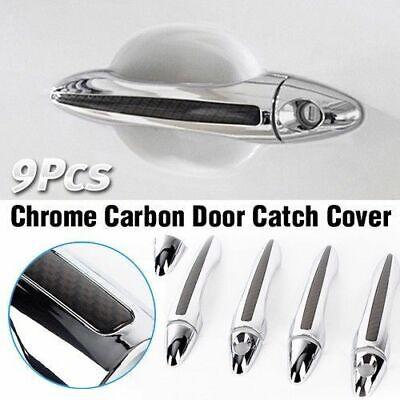 Luxury Chrome Door Catch Handle Molding Cover Trim for KIA 13-18 Cerato Forte K3