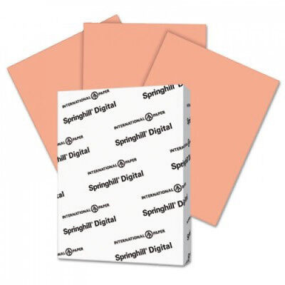Digital Index Color Card Stock 110 Lb 8 12 X 11 Salmon 250 Sheetspack