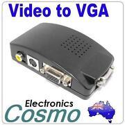 Composite to VGA Converter