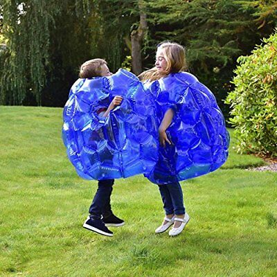 Kids Inflatable Buddy Bumper Ball Bounce Sumo Suits 2 Pack Outdoor Fun Game Zorb