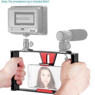 Neewer Smartphone Video Rig Handheld Grip Stabilizer for iPhone X 8 7 Plus 7 6s