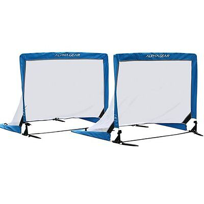 ALPHA Gear 3ft.SQ (91cm Wide) Pop Up Goals - PAIR