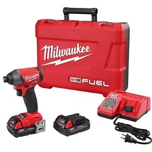 Milwaukee Tool M18 Fuel 1/4 Inch Hex Impact Driver 2753-22ct