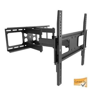 "FL-525 FULL MOTION TV WALL MOUNT BRACKET FOR 37""- 70"" TV"