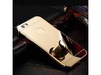 I phone 5 5s 6 and iohone se Gold plated case brand new