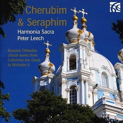 Peter Leech   Cherubim   Seraphim  Russian Orthodox Choral Ii  New Cd  Jewel Cas