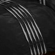 Black Diamante Bedding