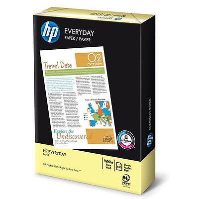 HP Everyday A4 75 gsm Ream Office Paper Laser Inkjet - 500 Sheets 1 ream
