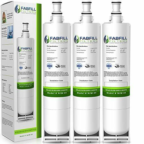 Fits Whirlpool 4396508 4392857 9902 EFF-6002A 9902 Water Filter 3 Pack