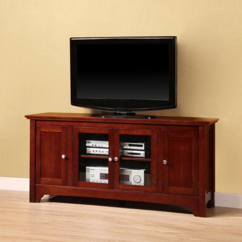 Cherry Wood Tv Stand Ebay