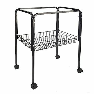 BLACK BIRD CAGE TROLLEY STAND FITS LIBERTA BIRD CAGES SIAM LOTUS PAGODA 9011