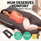 U-Shape Brown Feeding Pillows