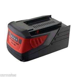 Battery For HILTI 36V 3.0Ah Li-ion +B36/3.0 Li-ion B36 CPC Rotary HAMMER DRILL