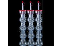 FOOTBALL Slush Yard Cups 17OZ x 10 case x 96 (960 cups with lid & straw .)_,,come fast_,best quality