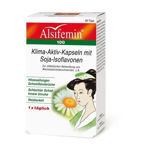 ALSIFEMIN 100 Klima Aktiv m.Soja 1x1 Kapseln 60 St