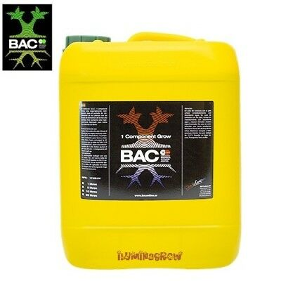 BAC 1 Componente Soil Bloom 10 L Abono Para Crecimiento Cultivo En...