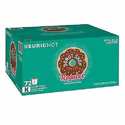 The Original Donut Shop, Regular, Medium Roast, Keurig K-Cups, -