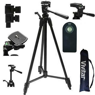 "72"" PROFESSIONAL LIGHTWEIGHT TRIPOD + REMOTE  FOR CANON EOS REBEL T6 T6I T6S 7D"