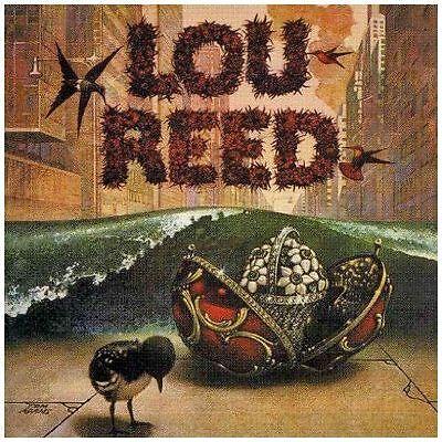 *NEW* CD Album Lou Reed - Lou Reed (Self Titled) (Mini LP Style Card Case)