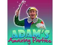 Childrens Party Entertainer Clown Balloon Modeller Kids Magician Mascots
