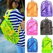 Clear Plastic Backpack