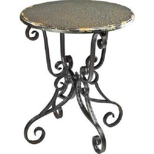 Marble Bistro Accent Table: French Bistro Table
