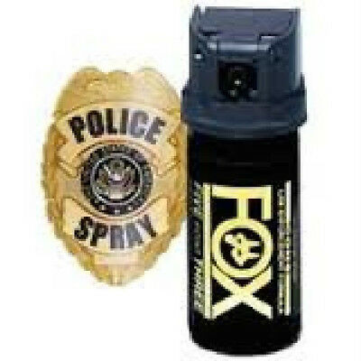 (Fox Labs Pepper Spray - 1.5 oz Cone (Flip Top) **Over Stock Sale**)